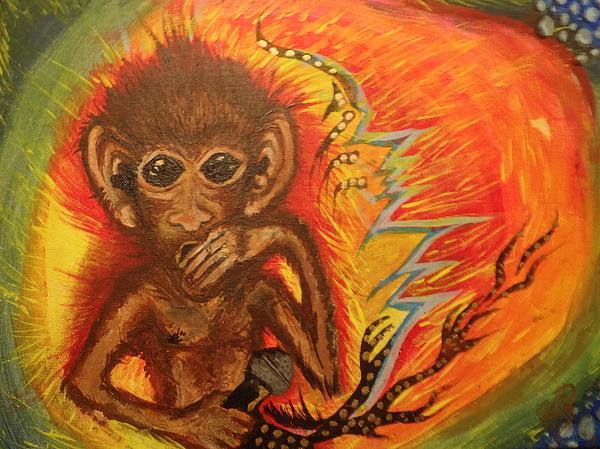 Mc Monkey Print by Zitlalli Rodriguez