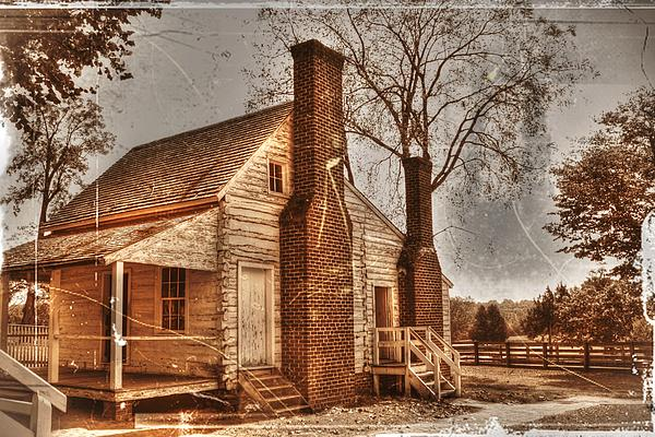 Mclean House Kitchen Print by Dan Stone