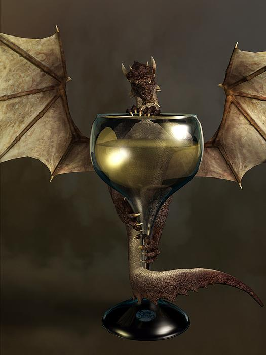 Mead Dragon Digital Art