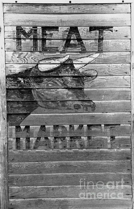 Meat Market, 1938 Print by Granger