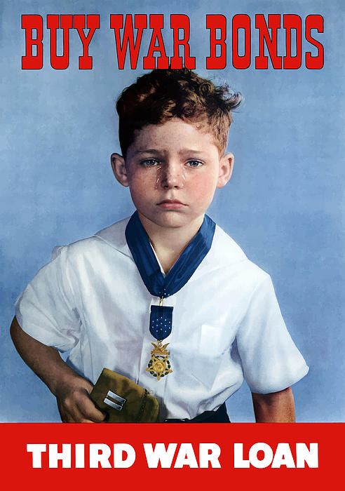 Medal Of Honor Child  Print by War Is Hell Store