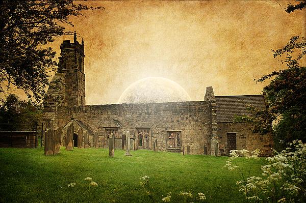 Medieval Church Print by Svetlana Sewell