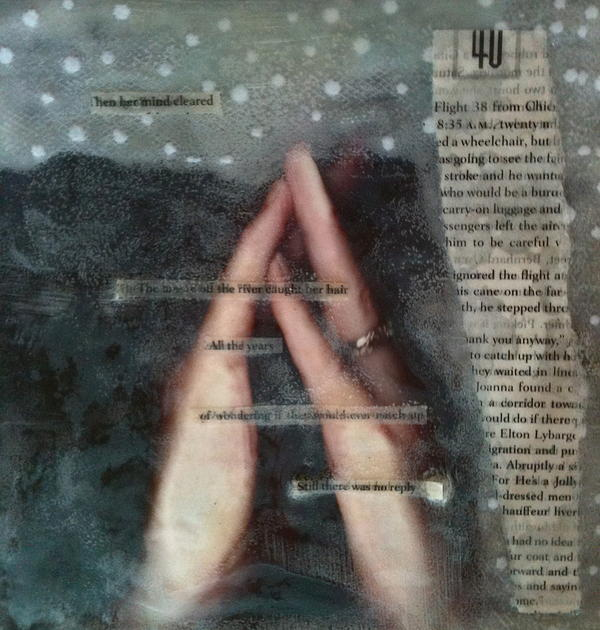 Meditating Realities Print by Holly  Suzanne