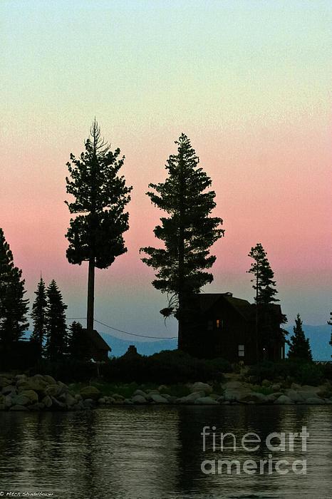 Mitch Shindelbower - Meeks Bay Sunset.