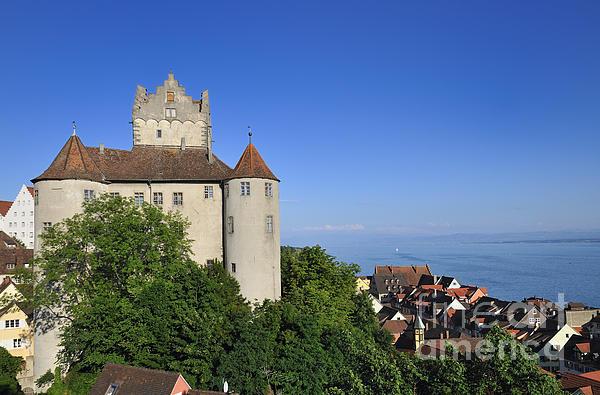 Meersburg Castle - Lake Constance Or Bodensee - Germany Print by Matthias Hauser