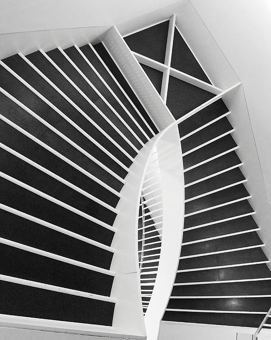 Meet Me Under The Stairs Print by Anna Villarreal Garbis