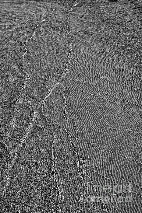 Meeting Point - Black And White Print by Hideaki Sakurai