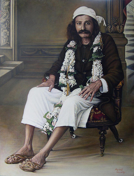 Meher Baba Print by Nad Wolinska