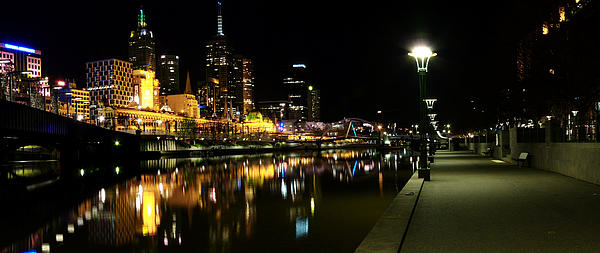 John Monteath - Melbourne night