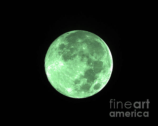 Melon Moon Print by Al Powell Photography USA