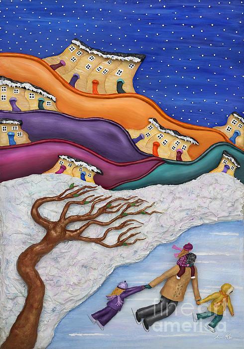 Memories On Ice Print by Anne Klar