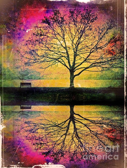 Memory Over Water Print by Tara Turner