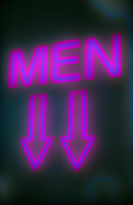 Men Print by Richard Piper