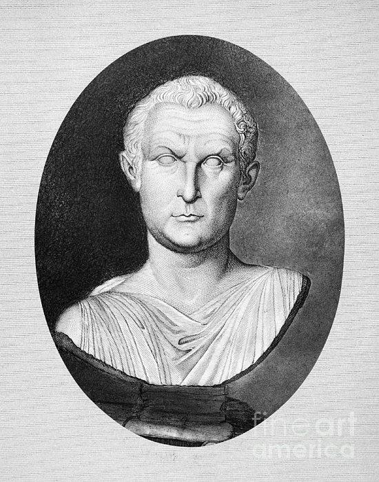 Menander (343-291 B.c.) Print by Granger