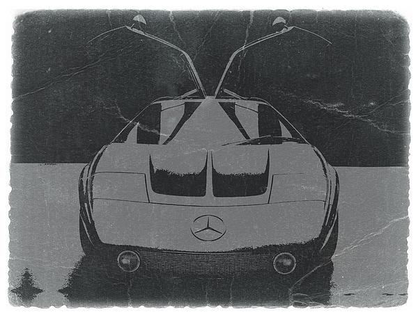 Mercedes Benz C IIi Concept Print by Naxart Studio