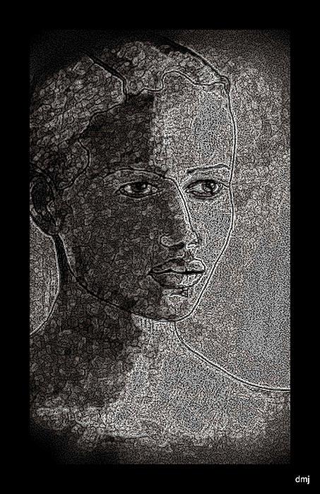 Mercury Print by Diane montana Jansson