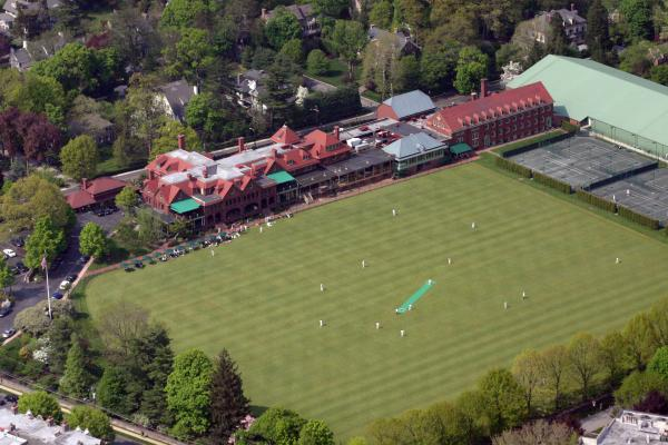 Merion Cricket Club Picf Print by Duncan Pearson