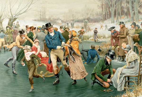 Merry Christmas Print by Frank Dadd