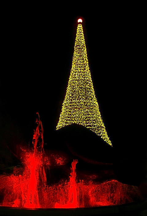 Merry Christmas ... Print by Juergen Weiss