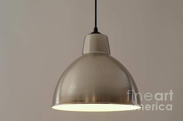 Metallic Lamp Shade Print by Sami Sarkis