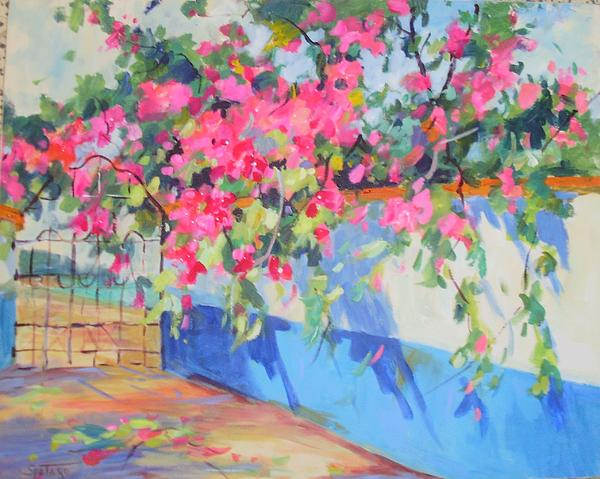 Peter Spataro - Mexico Flowers by the Sea