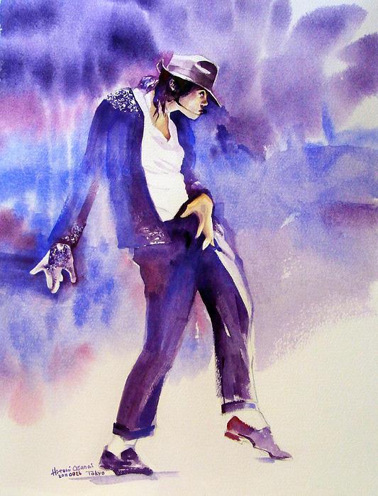 Michael Jackson - Not My Lover Print by Hitomi Osanai