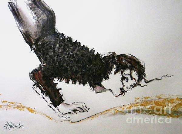 Michael Jackson - Ridiculous Spring Print by Hitomi Osanai