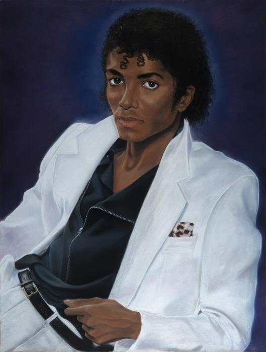 Michael Jackson All Time Thriller Print by Joyce Hayes