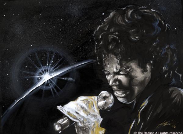 Michael Jackson Print by Keith  Thurman