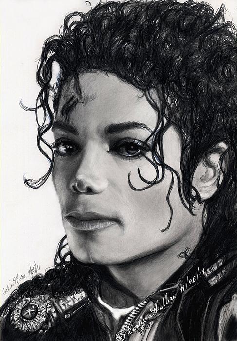 Michael Still Watches Print by Carliss Mora
