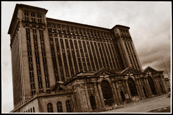 Michigan Central Station Photograph