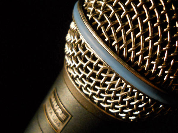Microphone Closeup William Kaluta Photography by William ...