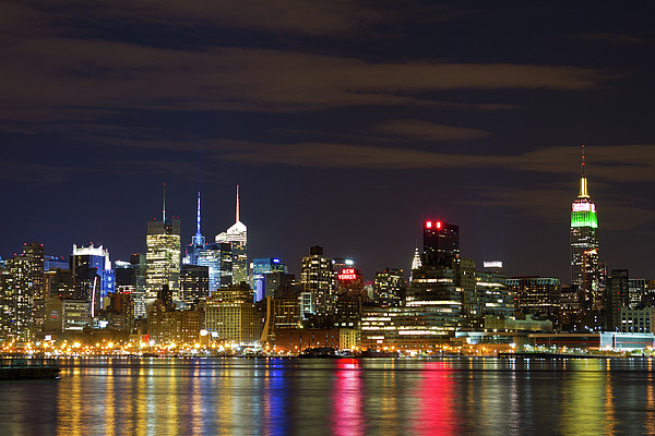 Mid Town Manhattan Print by Shabdro Photo