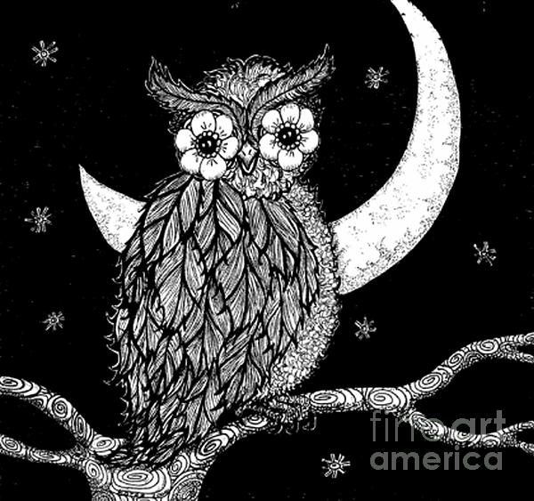 Barbra Drasby - Midnight Owl