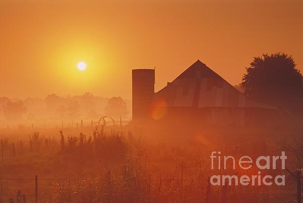 Daniel Dempster - Midwestern Rural Sunrise - FS000405