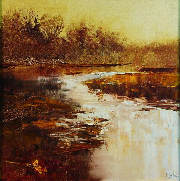 Mill River Painting