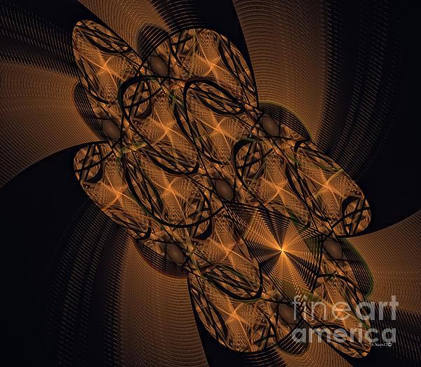 Mind Bender Print by Shari Nees