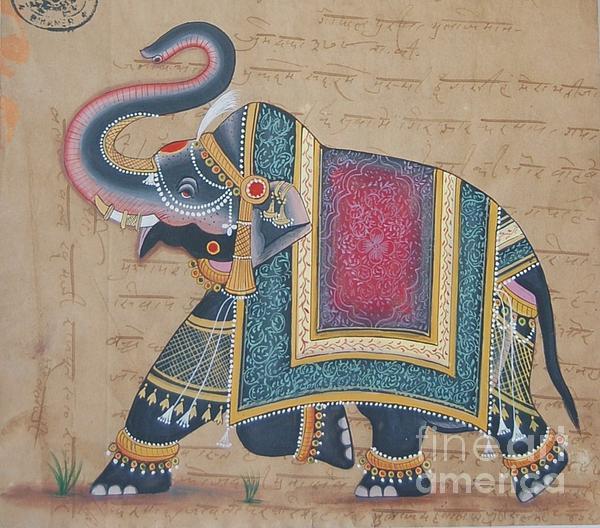 Ravi Kumar - miniature Elephant