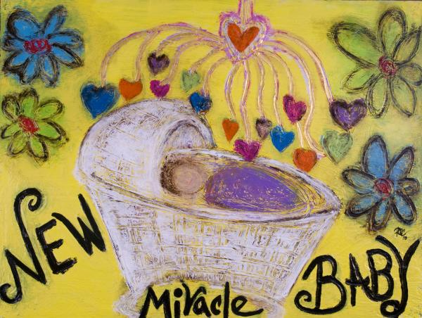 Miracle Baby Print by Rochelle Carr