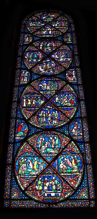 Miracles Of Thomas Becket 2 Print by Lisa Knechtel