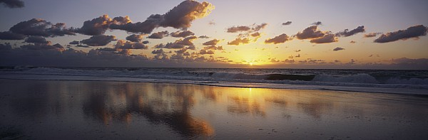 Mirrored Mexico Sunset Print by Bill Schildge - Printscapes