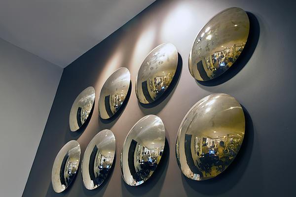 Mirrors Mirrors More Mirrors Print by Kantilal Patel