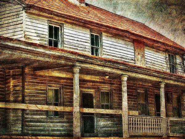 Missing A Window Print by Kathy Jennings