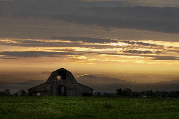 Larry Braun - Missouri Barn at Dusk