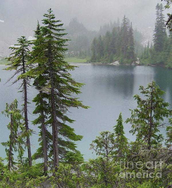 Charles Robinson - Mist at Snow Lake