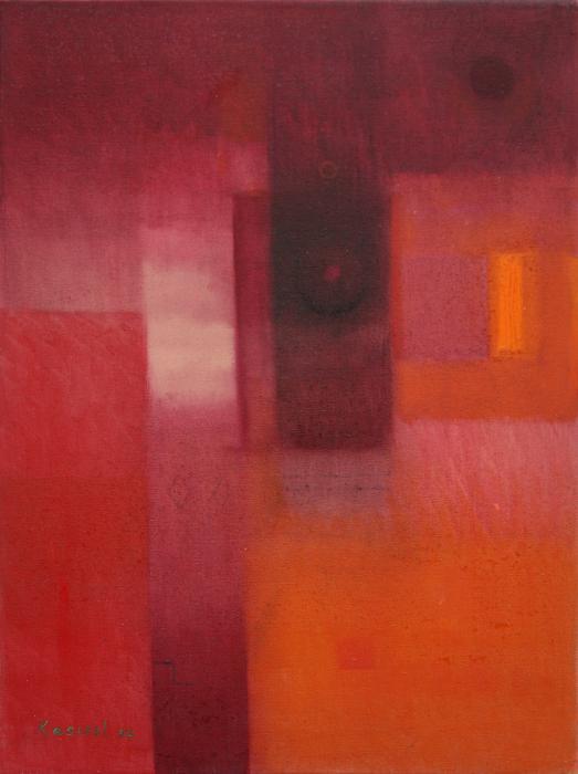 Misterio Rojo Painting by Roberto Kasisol - Misterio Rojo Fine Art ...
