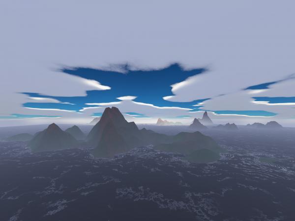 Misty Archipelago Print by Gaspar Avila