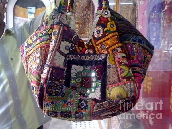 Mix Patchwork Bag Tapestry - Textile 
