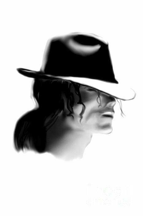 MJ Print by Alan Jose