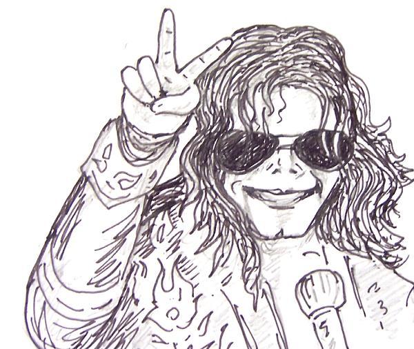 MJ Print by Rajan V